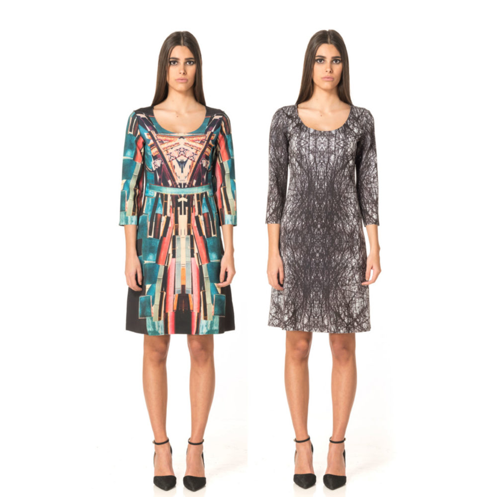 DRESSES Reversible Animapop made in Italy