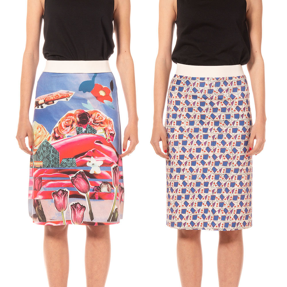 SKIRTS Reversible Animapop