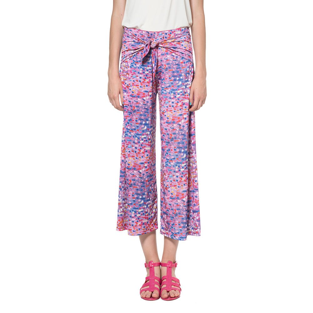 TROUSERS WITH KNOT CROPPED animapop